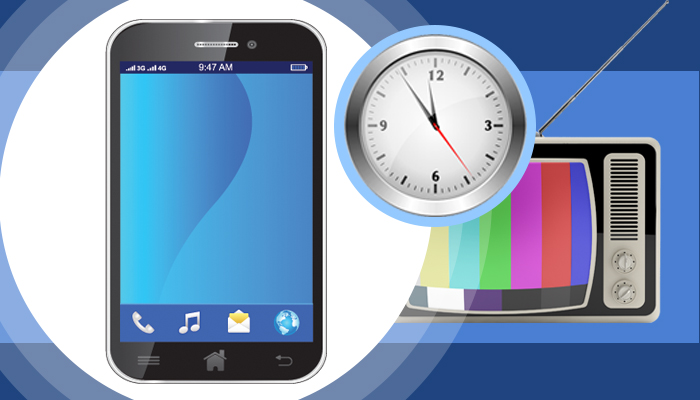 New Study Indicates Daily Smartphone Screen Time has Surpassed Television Screen Time in the U.S.