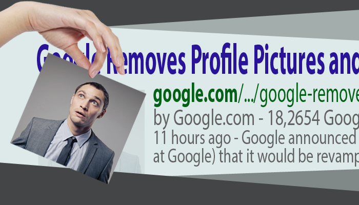 Google Removes Profile Pictures and Google+ Circle Counts from Authorship