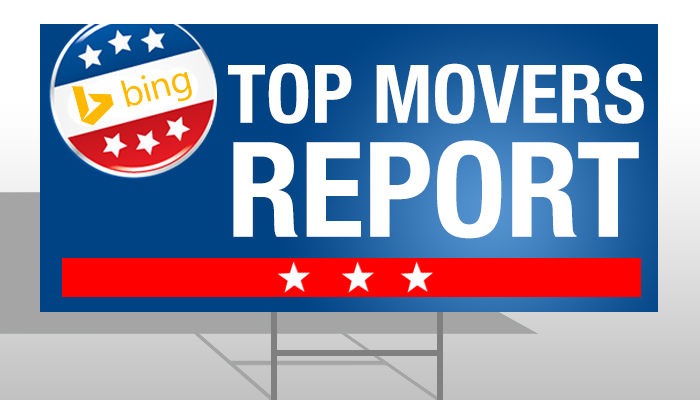 "Bing Ads' New ""Top Movers"" Report Sees Through Competitor Activities"