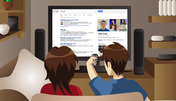 Google To Determine Search Results Based on TV Viewing