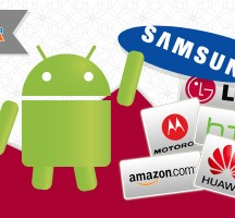 Samsung Continues to Dominate Android Web Traffic; LG Gaining Ground