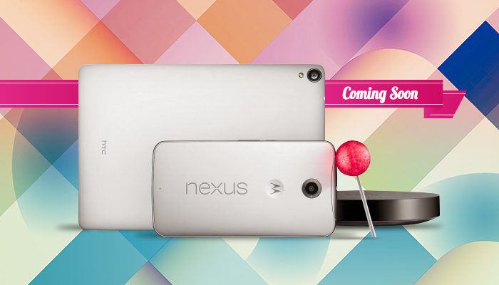 Android L & New Nexus Devices Coming Soon