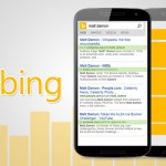 Bing Releases Update on Mobile Search