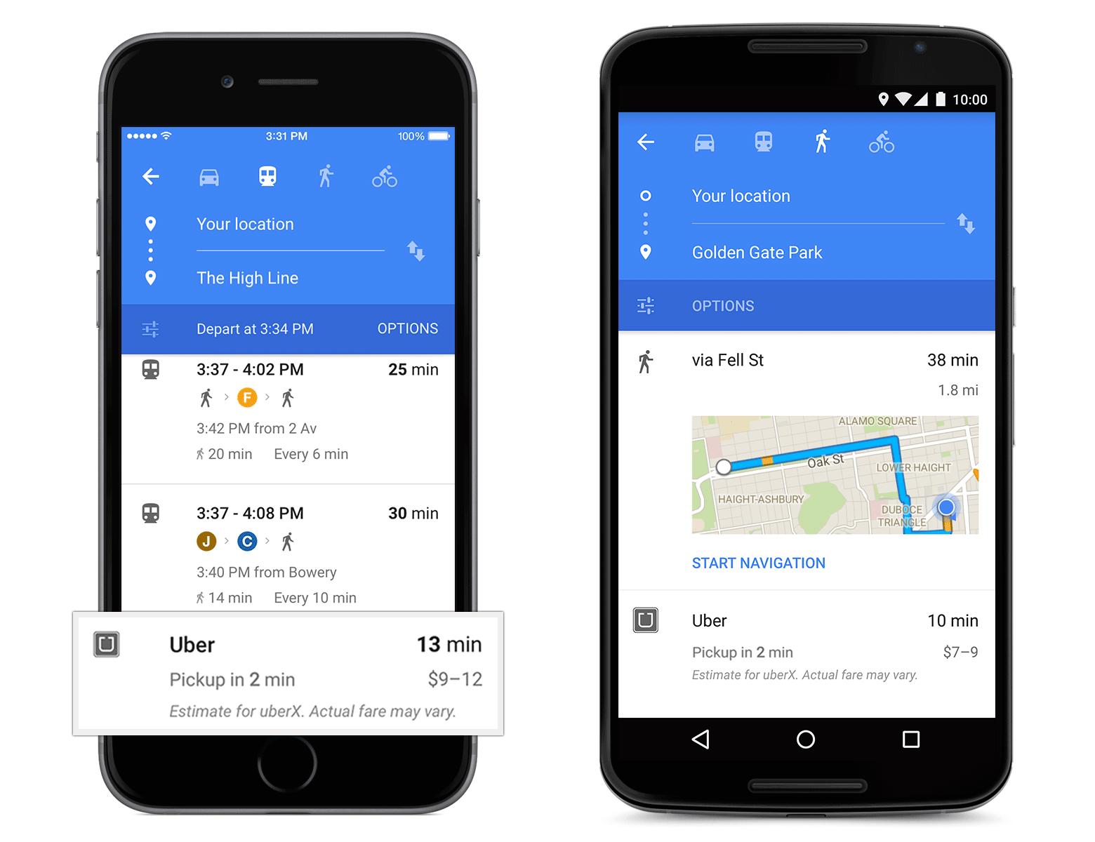 google-maps-uber-integration