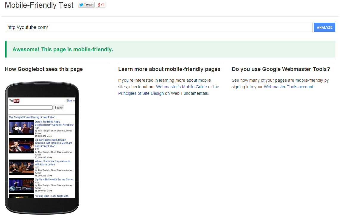 google-mobile-friendly-test-page