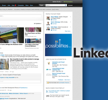 LinkedIn Showcases New Homepage Design