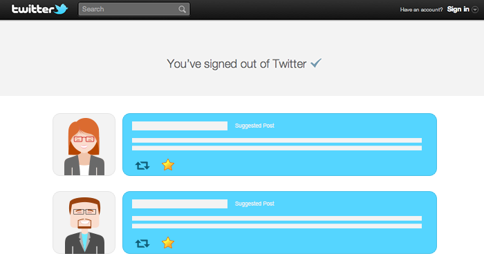 New Twitter Homepage for Logged-Out Visitors in the Works, says Report