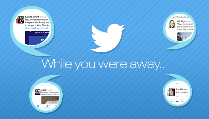 """2015.01.20 (Mini FA L1) Twitter's """"While You Were Away"""" Now Official_ Rebranded as Recaps GR"""