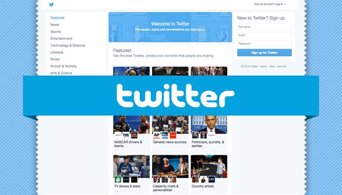 2015.03.20 (Mini-FA L1) Twitter Reportedly Begins Testing a New Homepage Design DA