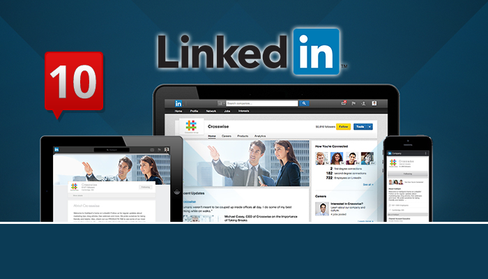 2015.04.01 (Mini FA L1) LinkedIn Enhances its Company Pages with a New Notification Center MM