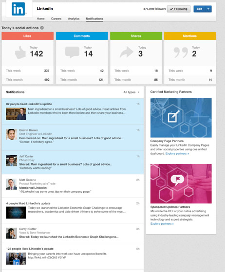 linkedin-company-pages-notification-center