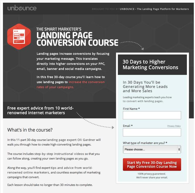 unbounce-hubspot-landing-page-conversion-course